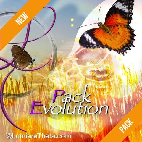 Pack Evolution ! ❤️😘🌸🌈🦋