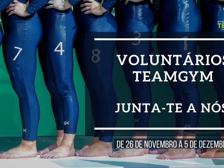Voluntários TeamGym - Campeonato da Europa