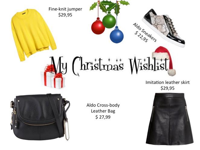 Christmas wishlist.