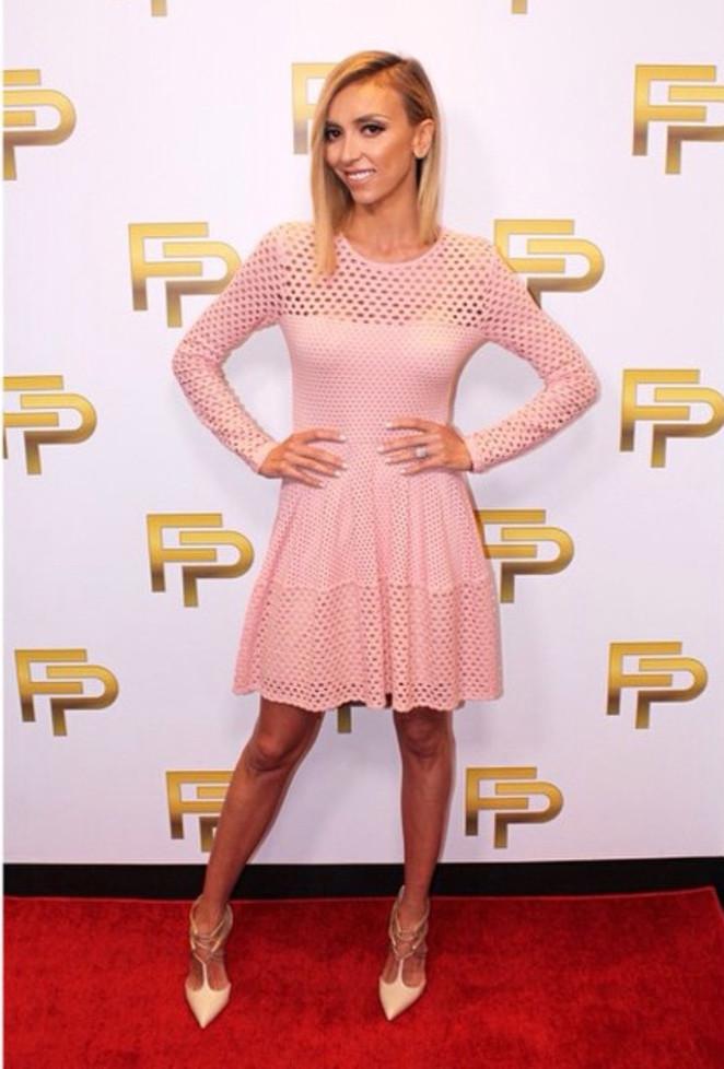 Look Giuliana Rancic for Fashion Police.
