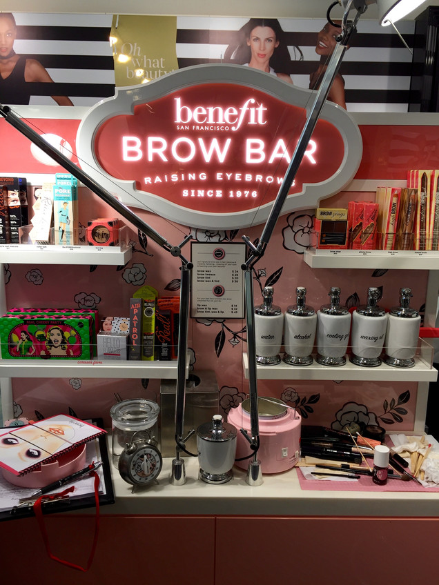 My experience at Benefit Brow Bar.