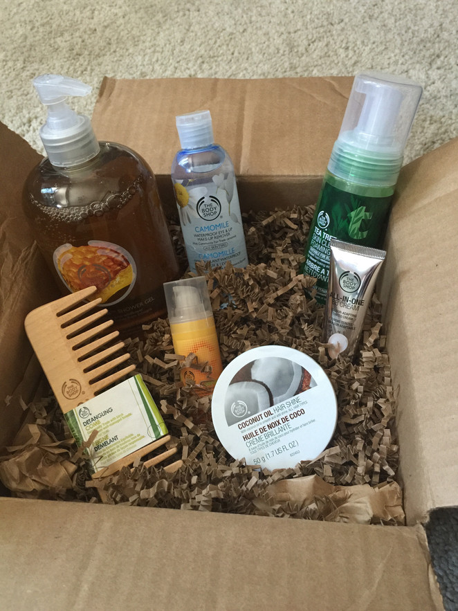 Unboxing The Body Shop.