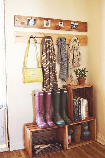 Monday Decor, Mud Room.