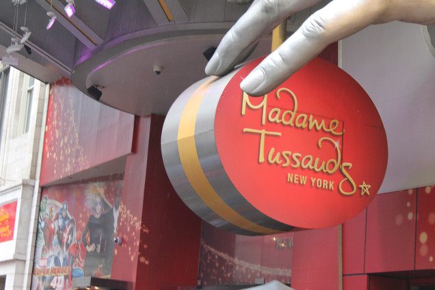 Visiting Madame Tussauds NYC