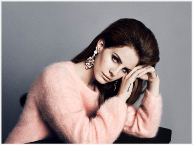 Lana Del Rey para H&M.