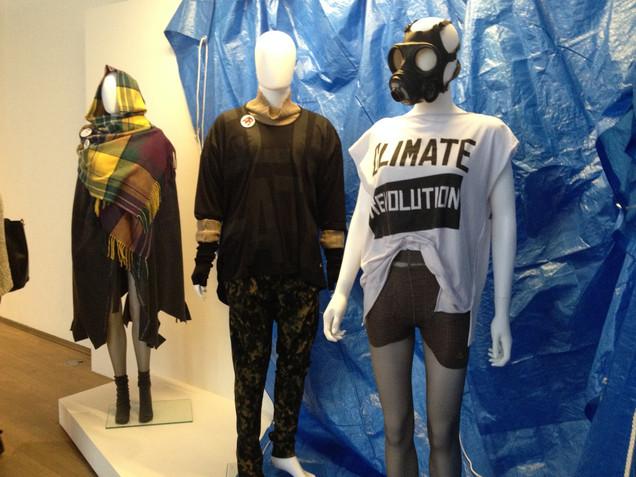 Politics of Fashion Exhibition.