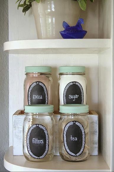 Monday Decor: Ideas to organize your kitchen