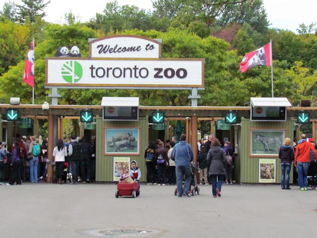 The Toronto Zoo.