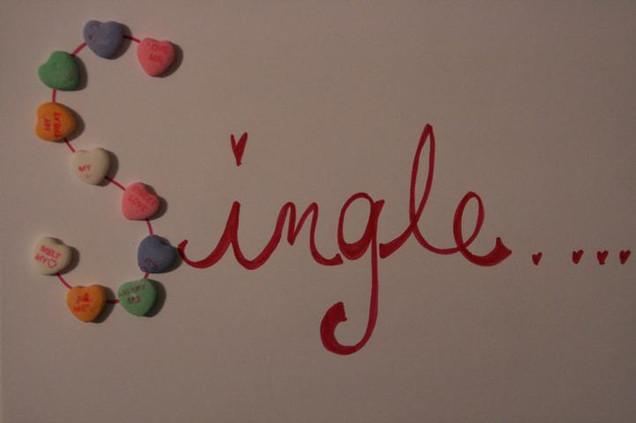 Valentine's day for singles.