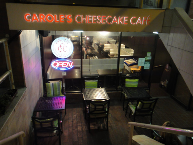 The best of T.O -Carole's Cheesecake.