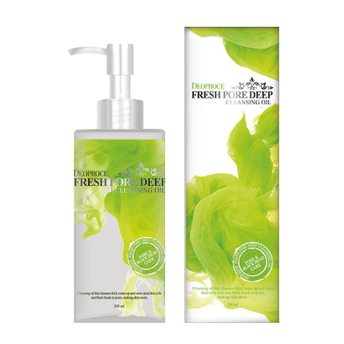 DEOPROCE Cleansing Oil (Fresh Pore Deep), 200ml