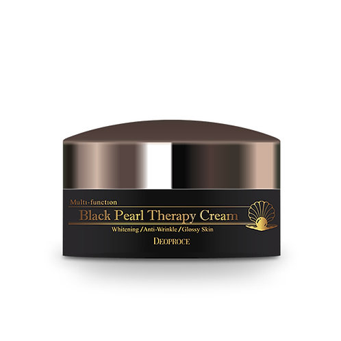DEOPROCE Black Pearl Therapy Cream, 100g