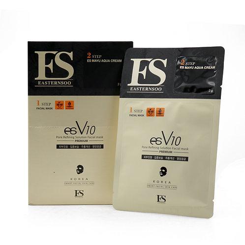 esV10 Pore Refining Facial Masks (10packs)