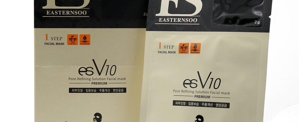 esV10 Pore Refining Facial Masks (10packs)