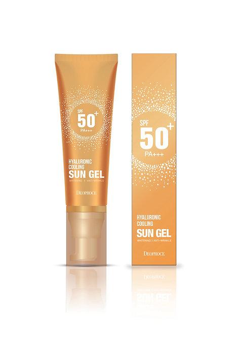 DEOPROCE Hyaluronic Cooling Sun Gel SPF50+ PA+++, 50ml