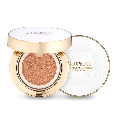 DEOPROCE UV Waterful Cushion (with refill) No. 21, 23