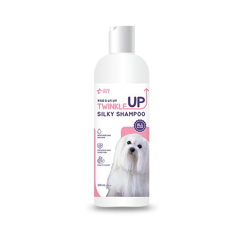 PETER PET Twinkle Up Silky Shampoo, 500ml