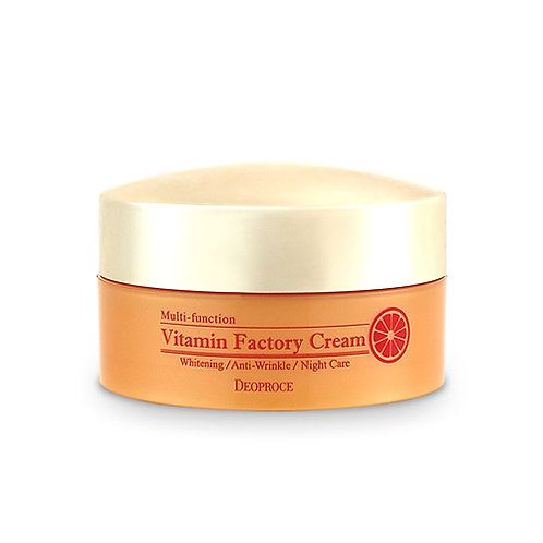 DEOPROCE Vitamin Factory Cream, 100g
