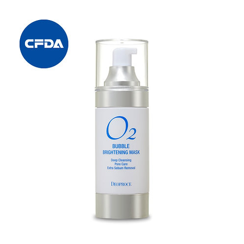 DEOPROCE O2 Bubble Brightening Mask, 100ml