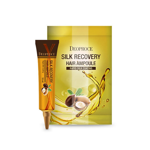 DEOPROCE Silk Recovery Hair Ampoule, 10g X 10