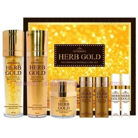 ESTHEROCE Herb Gold Whitening & Wrinkle care Set