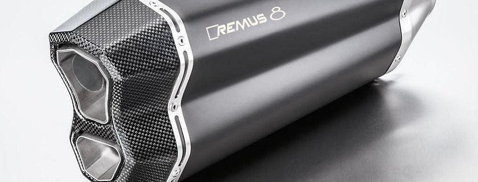 REMUS 8 Slip-On Exhaust Systems 2017-2018 KTM Tiger 800