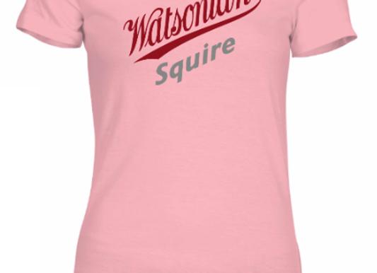 Watsonian Squire Womens Pink T-Shirt