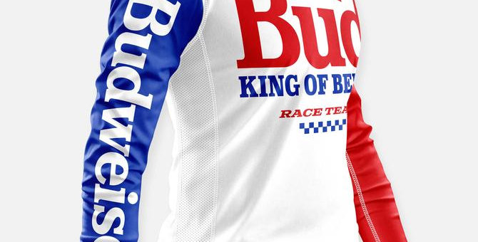 BOSS RACE TEAM JERSEY RED WHITE & BLUE