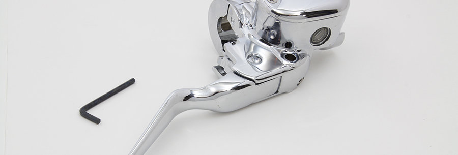 Handlebar Master Cylinder Assembly Chrome
