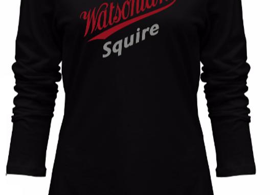 Watsonian Squire Women's Long Sleeve T-Shirt Black