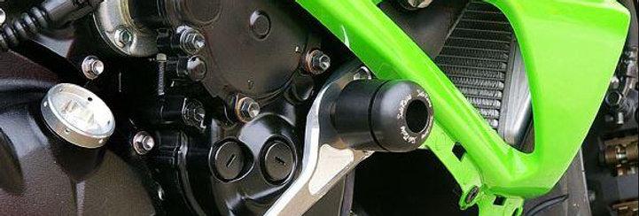 SATO RACING ENGINE / FRAME SLIDERS FOR 2009-2012 KAWASAKI ZX6R