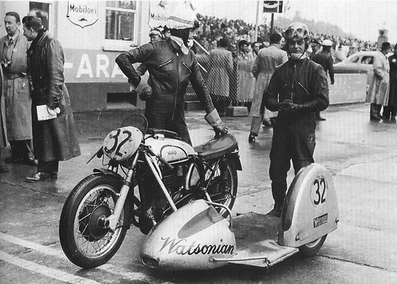 Choice of Champions Watsonian Squire Sidecars