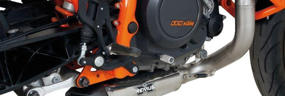 Remus HyperCone Underfloor Full Exhaust System 2012-2016 KTM 690 Duke