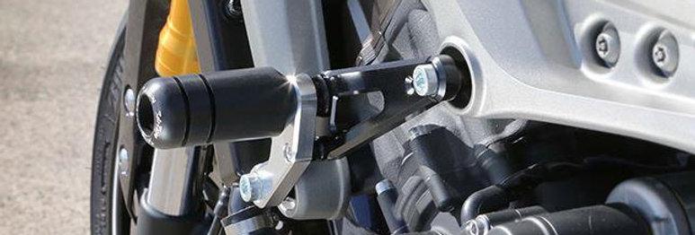 Sato Racing Frame Sliders For 2013-2017 Yamaha MT-09 / FZ-09 / FJ-09 / XSR900 [Y