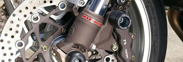 SATO RACING FORK SLIDERS FOR 2010-2013 YAMAHA FZ8, 2009+ MV AGUSTA F4/F4 1000, B