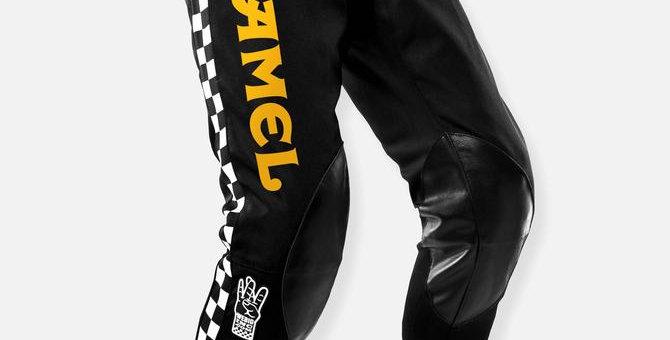 CAMEL SMOKERCROSS PANT BLACK