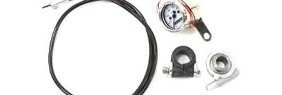 Deco Mini 48mm Speedometer Kit with 2:1 Ratio