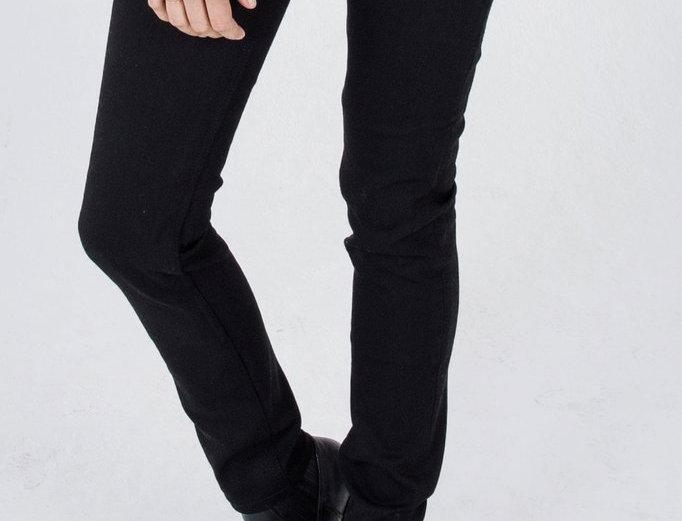 Women's Jet Black Protective Riding Jeans