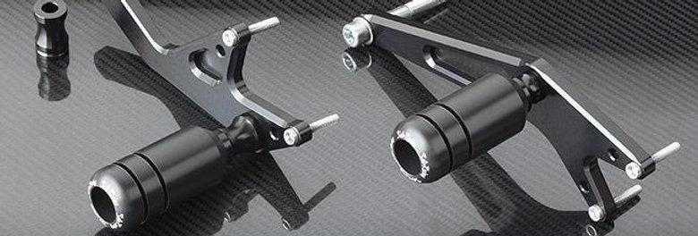 Sato Racing No-Cut Frame Sliders for 2013-2014 Honda CBR400R / CBR500R