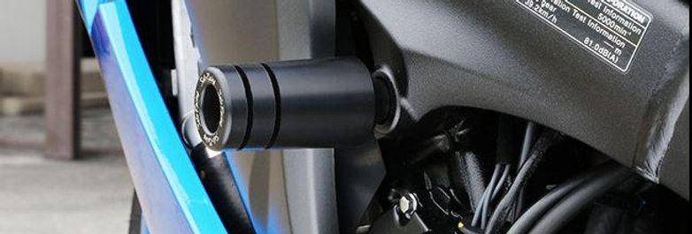 Sato Racing Frame Sliders 2015-2016 Suzuki GSX-S1000 / GSX-S1000F | S-S1000FS-BK