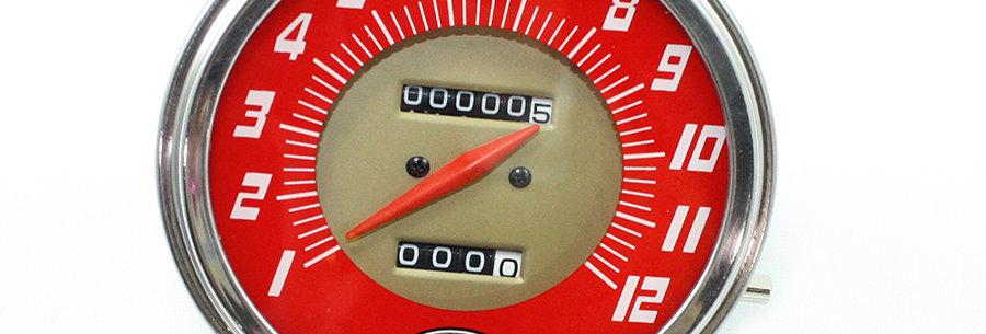 Replica Speedometer with 2240:60 Ratio