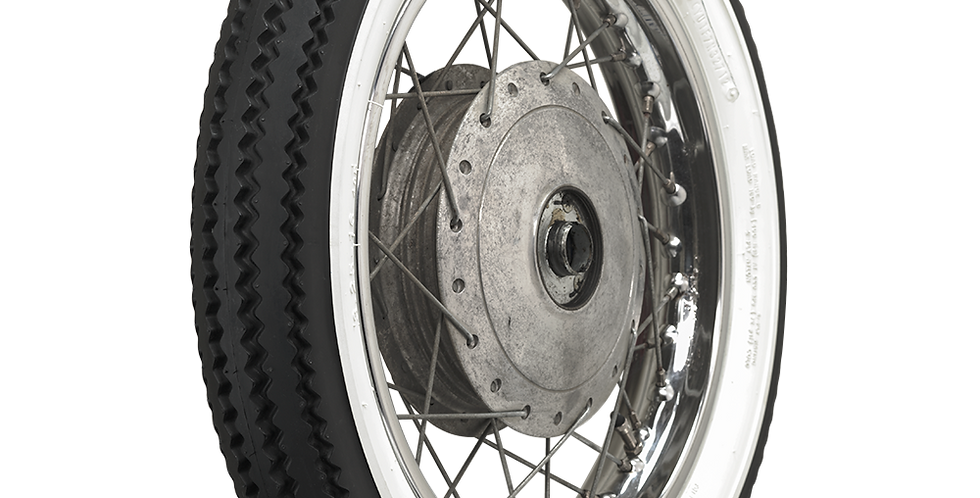 Firestone Deluxe Champion Motorcycle Tires Wide Whitewall