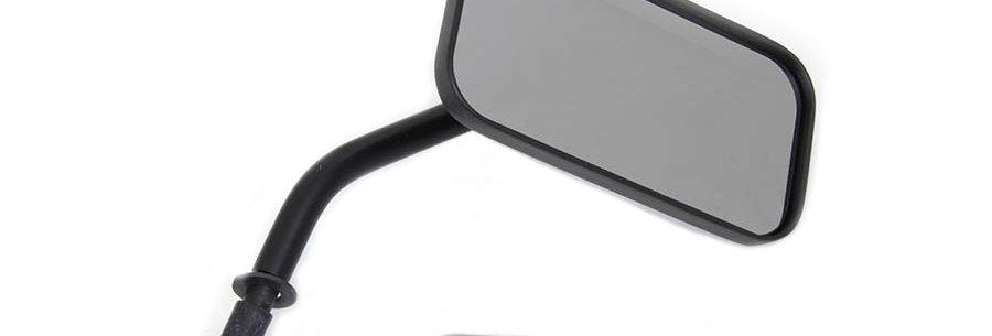 Black Rectangle Mirror