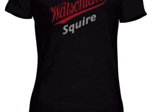 Watsonian Squire Womens Black T-Shirt
