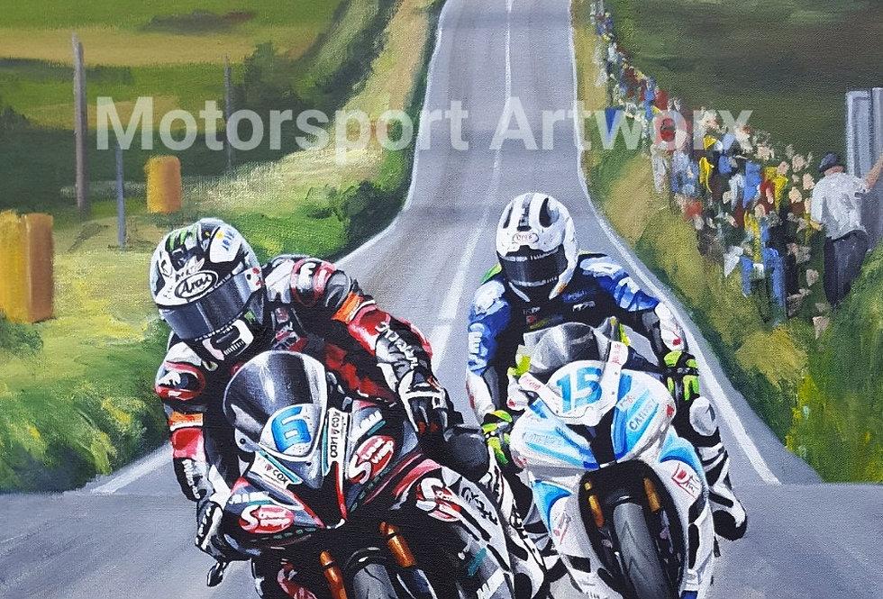 """Michael and William Dunlop"" Isle of Man TT 2017."