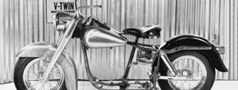 Replica 1973 Shovelhead Rolling Chassis Kit