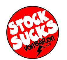 STOCK SUCKS VON BARON MOTORCYCLES