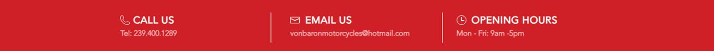 contact von baron motorcyles