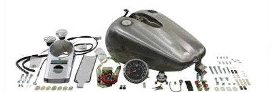 Bobbed 4.0 Gallon Gas Tank Kit