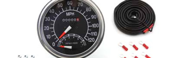 Speedometer with 2240:60 Ratio and Tachometer